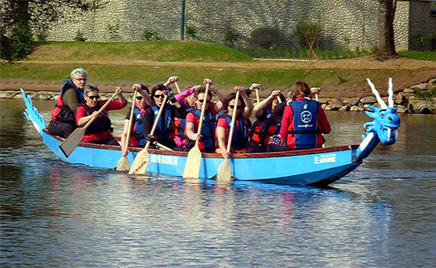 Dragon Boat en action !